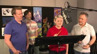 Zootopia: Voice Recording Behind the Scenes Movie Broll - Shakira, Jason Bateman