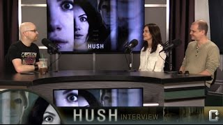 Director Mike Flanagan and Kate Siegel on 'Hush', 'Before I Wake' and 'Ouija 2'