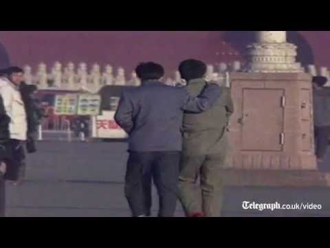 Archive footage: 25th anniversary of Tiananmen Square massacre