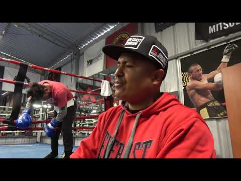 robert garcia reflect on rios vs garcia fight EsNews Boxing
