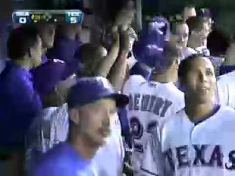 Craig Gentry(Texas Rangers) inside the park home run