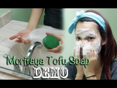 Demo: Moritaya Tofu Solid Face Soap For Acne-prone & Sensitive Skin