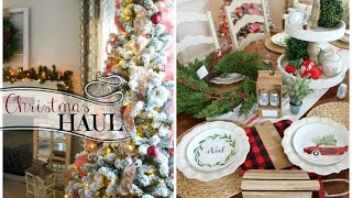 Christmas Decor HAUL 2016! Target Dollar Spot, Home Goods + NEW Christmas Tree!