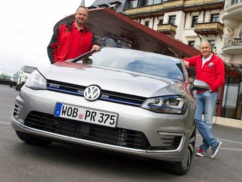 Volkswagen erweitert die Golf-Familie um ein weiteres Mitglied und stellt den ersten VW Golf als Plug-In-Hybrid vor, den VW Golf GTE. Wir haben den VW Golf GTE zusammen mit Rennlegende Hans...