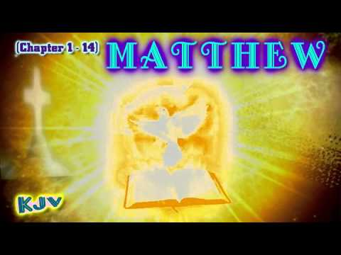 (40) Gospel Of Matthew Pt.1 (chapter 01-14) - Holy Bible   (kjv) King James Version video