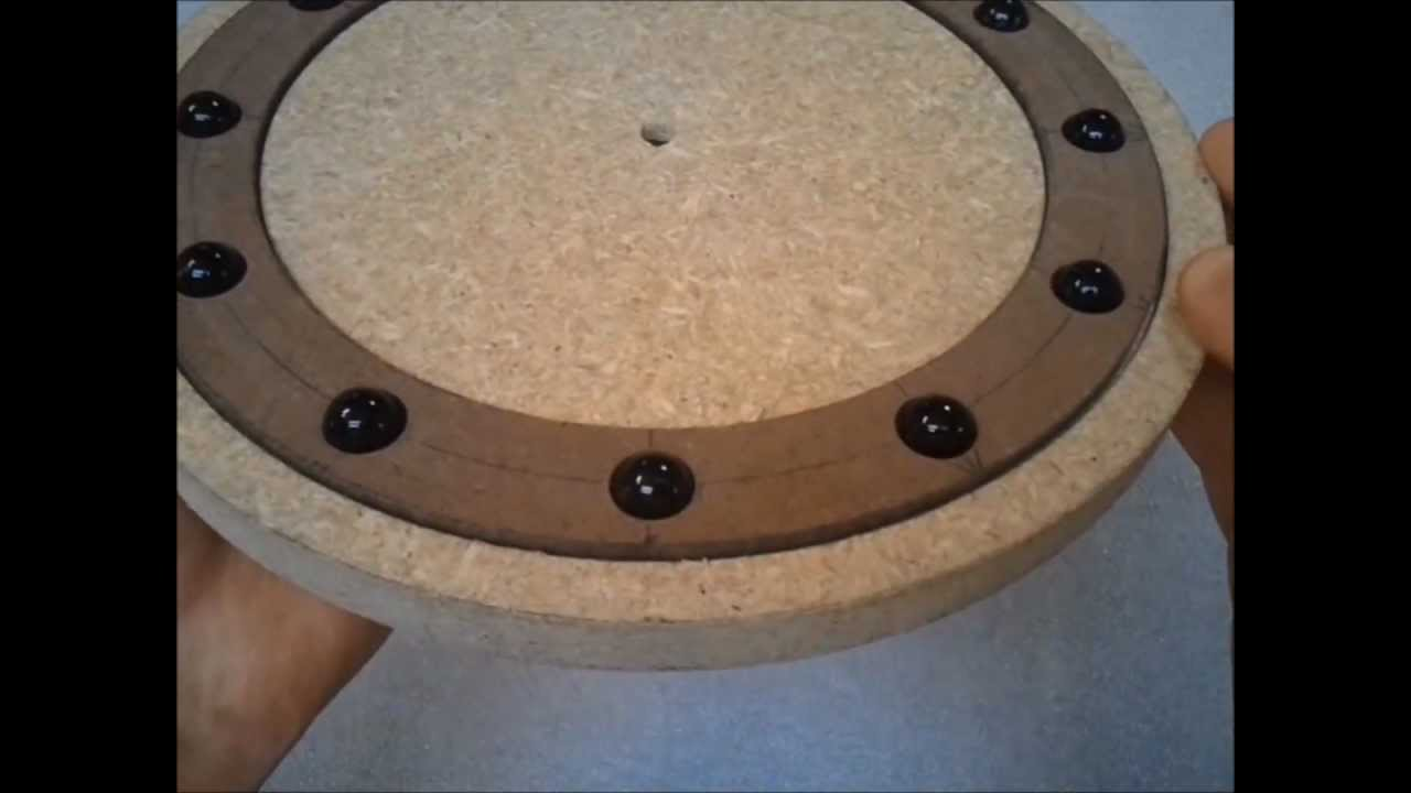Making A Wooden Bearing For A Lazy Susan Part 1 Of 4