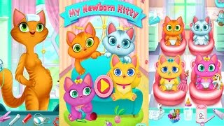 My Newborn Kitty - Fluffy Care Android Gameplay