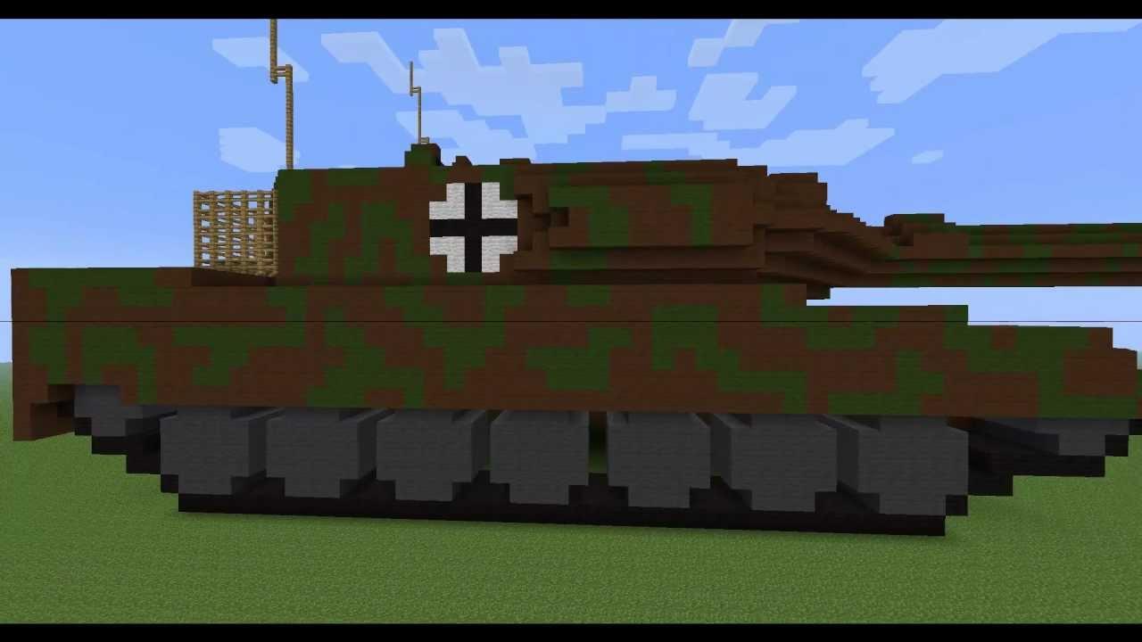 Minecraft Tank Savaşları