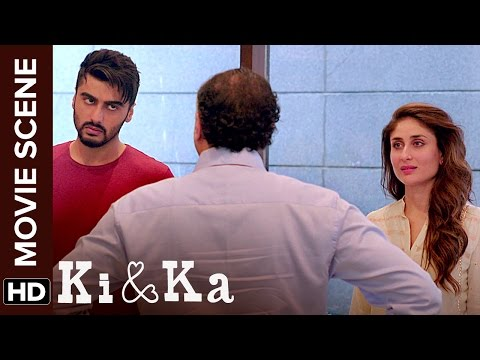 Who Is The Responsibility ? | Ki & Ka | Arjun Kapoor, Kareena Kapoor | Movie Scene
