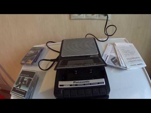 2007 Panasonic RQ-2102 cassette recorder - short review