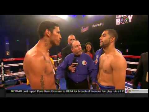 Sadam Ali vs  Johan Perez  72917
