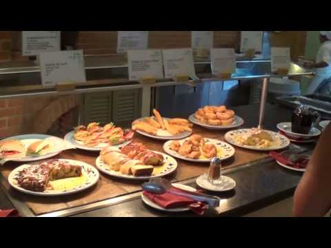 Colonial buffet