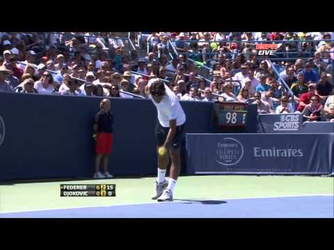 Federer vs Djokovic Cincinnati Final 2012 Full Match HD !!!