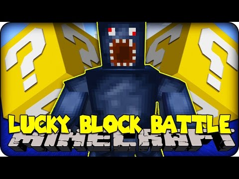 Minecraft - Lucky Block Boss Challenge - Squid Boss! (lucky Block Mod ) video