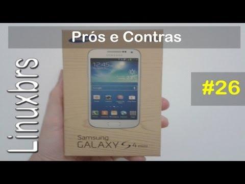 Samsung Galaxy S4 Mini Duos i9192 - Prós e Contras - PT-BR - Brasil