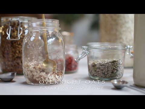 Overnight Oats - Plant Based Breakfast On The Go