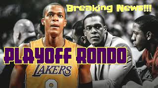 [Breaking News!!!] LAKERS'S PG Rajon Rondo will need surgery and miss a Month!!!