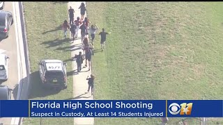 Student Tweets From Inside Florida School During Shooting