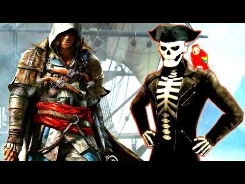 Assassin's Creed 4 Black Flag New Easter Egg - Dancing Skeleton Pirate (Assassin's Creed IV Secrets)