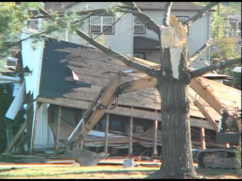Footage from Athens High School Cleanup Efforts
