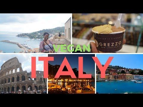 Italy 2016 // Travel Vlog + Vegan Food