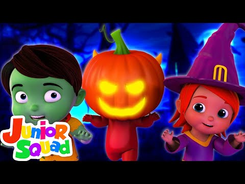 Halloween Beat | Junior Squad Cartoons | Halloween Songs & Music For Kids