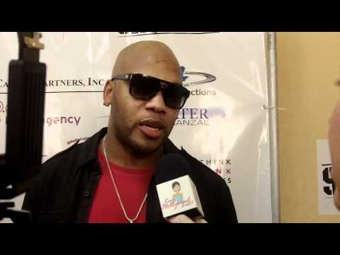 Flo Rida with KimzHollywoodList