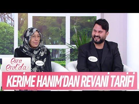 Kerime Hanım'dan revani tarifi - Esra Erol'da 28 Aralık 2017
