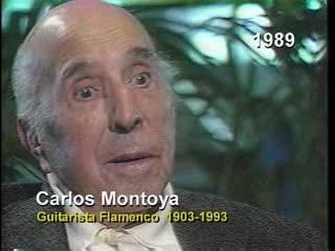 Carlos Montoya 1989 interview