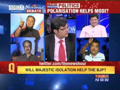 The Newshour Debate: Polarisation helps Modi? (Part 2 of 2)