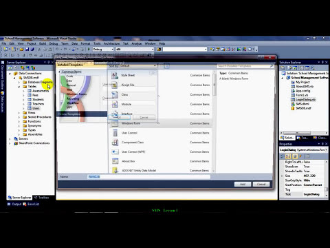 Creating a School Management Software Part 1