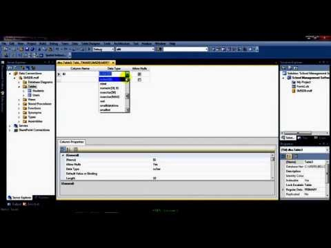 Creating a School Management Software (SMS) Part 1