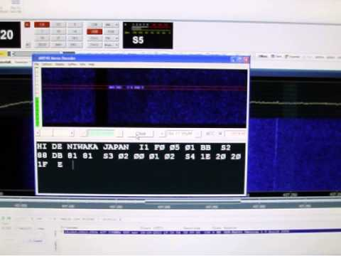 FITSAT-1 CW Telemetry Decode