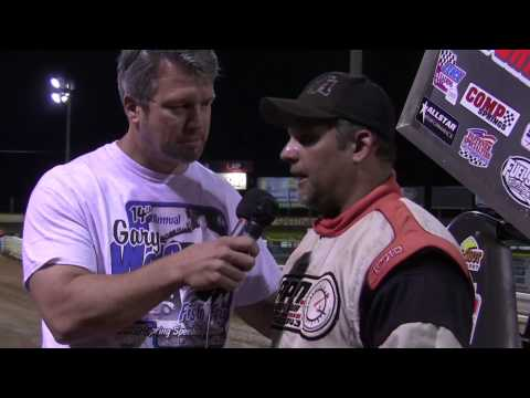 Lincoln Speedway Super Sportsman Victory Lane 8-30-14