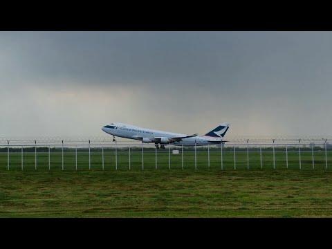 Cathay Pacific Cargo : BKK-HKG, Takeoff @ BKK Airport