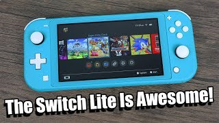 The Nintendo Switch Lite is An Awesome Handheld!