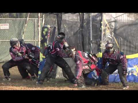 LA Ironmen vs San Diego Aftermath - DVD Footage Raw Paintball Match HD at PSP World Cup 2009
