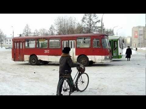 ЛиАЗ-677, г.Рыбинск