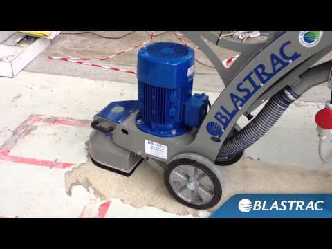 Rimozione rivestimento in resina | Blastrac Levigatrice BG-250