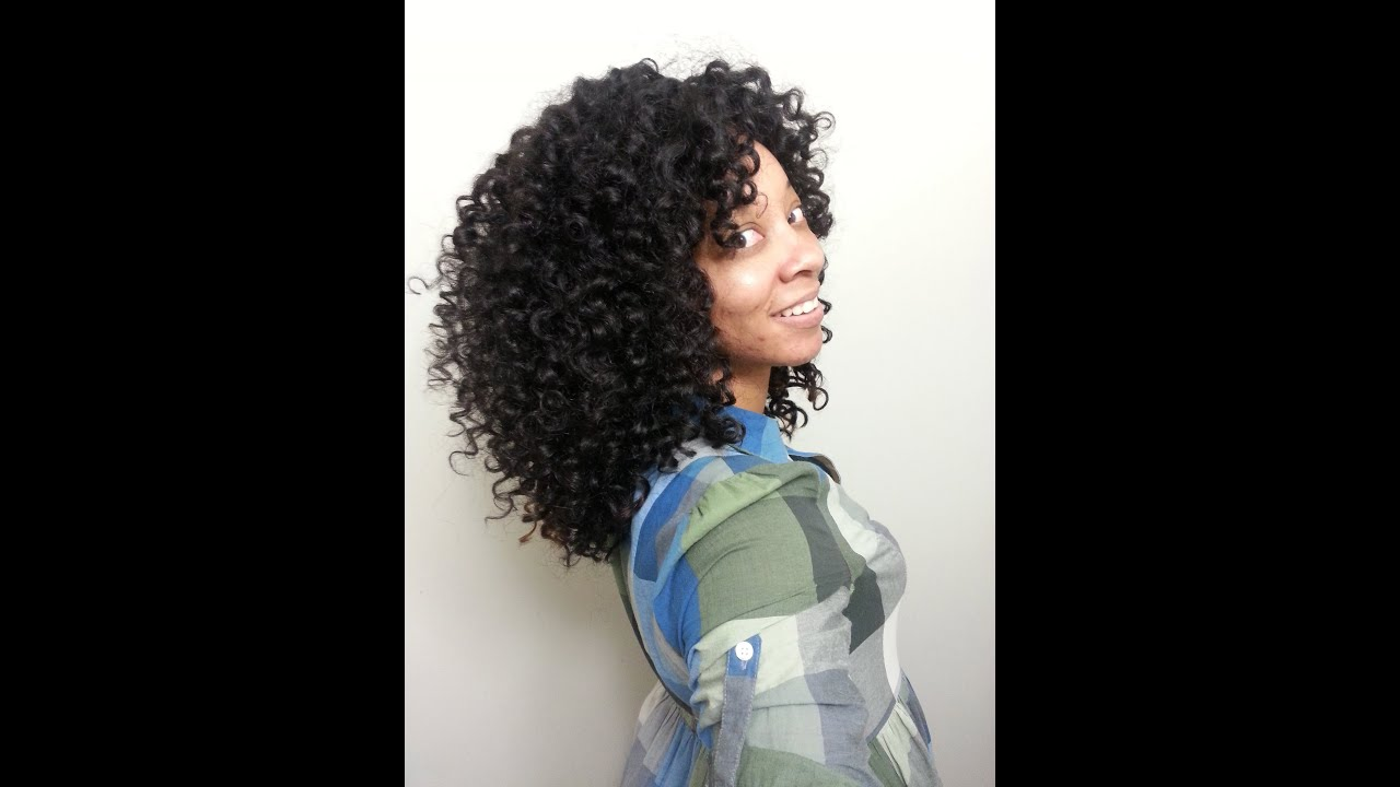 How To: Cut & Shape Curly Hair - YouTube