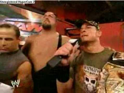 Matt Hardy,HBK,Big Show and John Cena Interview Video