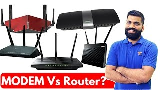 MODEM Vs Router?? The BIG Difference!!!