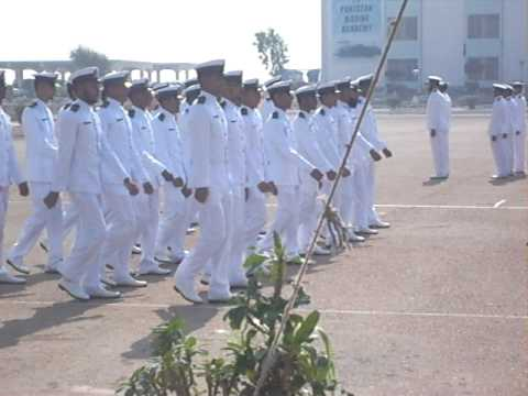 POP of 46th batch pakistan marine academy karachi .AVI