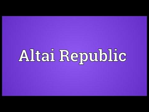 Header of Altai Republic