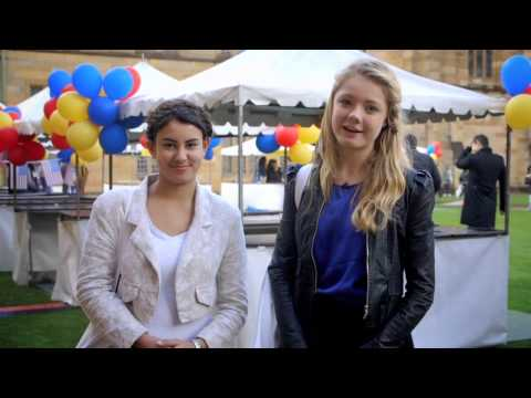 University of Sydney Open Day 2014 highlights