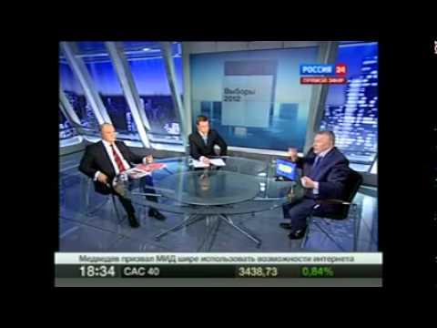 Зюганов и Жириновский. Дебаты 9 февраля 2012
