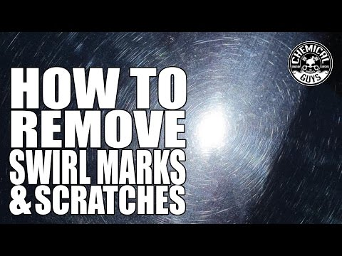 How To Remove Swirl Marks And Water Spots In One Step - Chemical Guys VSS