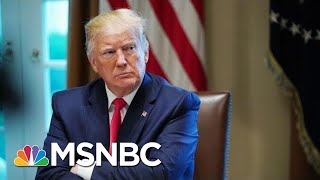 President Donald Trump Defends Saying He'd Take Foreign Info On Rivals | Hallie Jackson | MSNBC