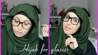 Download Tutoriel Hijab pour lunettes |  Hijab tutorial for glasses 3Gp Mp4
