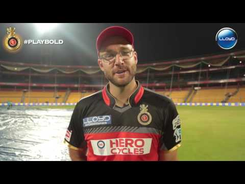 LLoyd Happiness Hungama with Coach Daniel Vettori